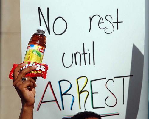 Trayvon Martin Protest 4 SC