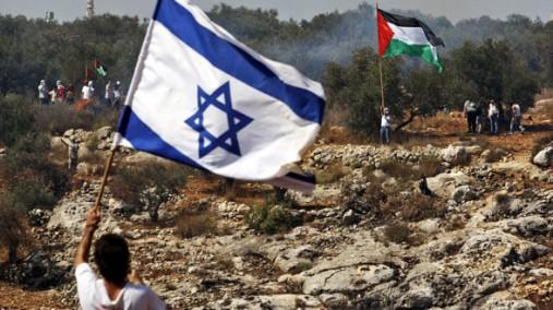 israel palestine flags SC