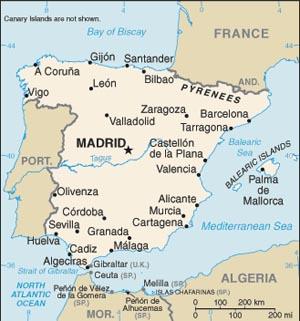 Spain Map SC