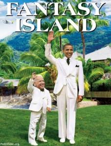 Obama Biden Fantasy Island