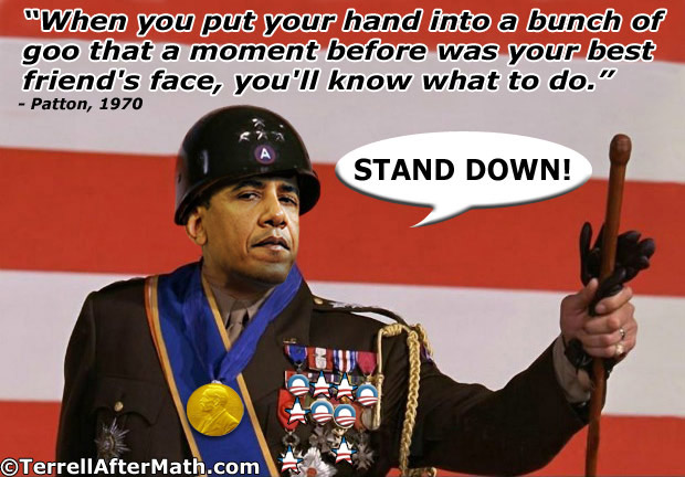 General Obama Forward Stand Down SC