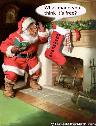 Obama-Santa-Obamacare-Aint-Free-SC