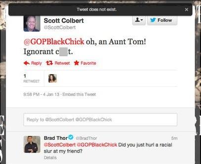 Colbert-tweet