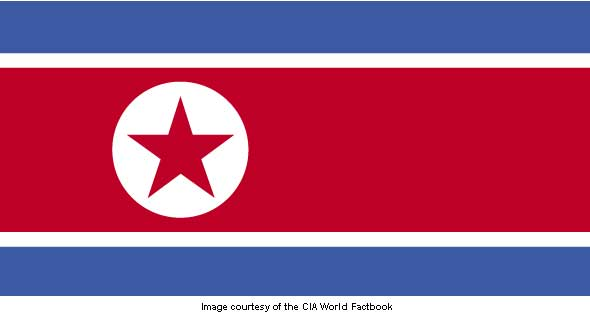 North Korea flag SC