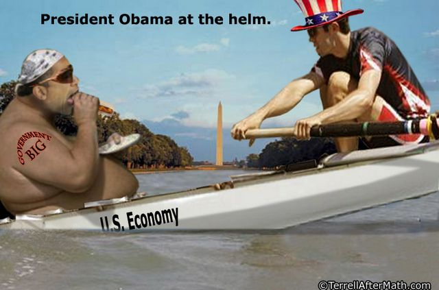 Obama At Helm Big Government US Economy SC
