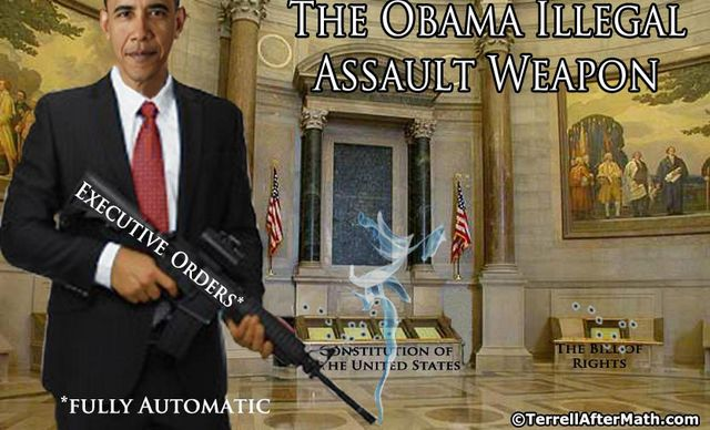 Obama Illegal Assault Weapon Executive Order SC