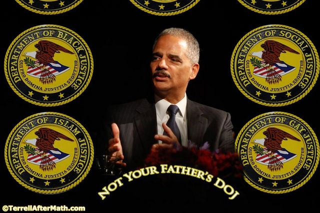 Holder Not Your Father's DOJ SC