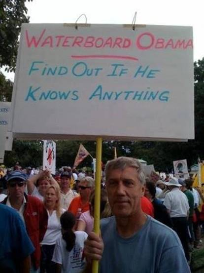 Waterboard Obama SC