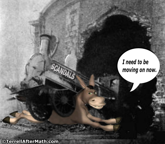 Democrat Donkey Scandals Train SC