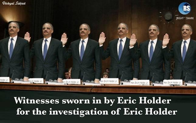 Holder Investigates Holder SC