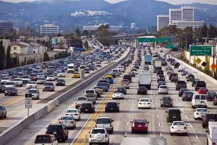 traffic jam SC