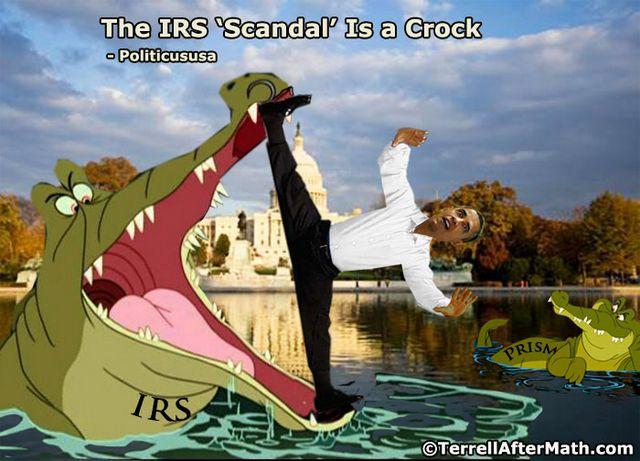 Obama IRS Scandal A Crock SC