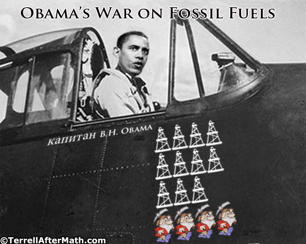 Obama's War On Fossil Fuels SC