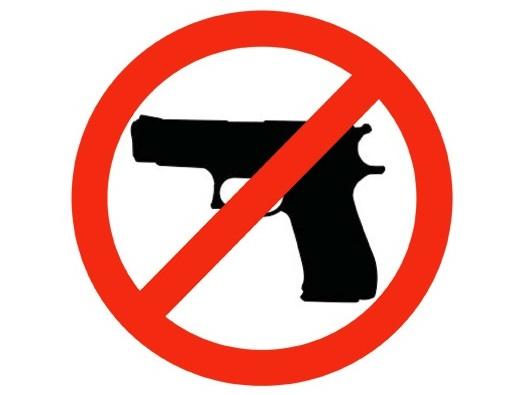 gun control sign SC