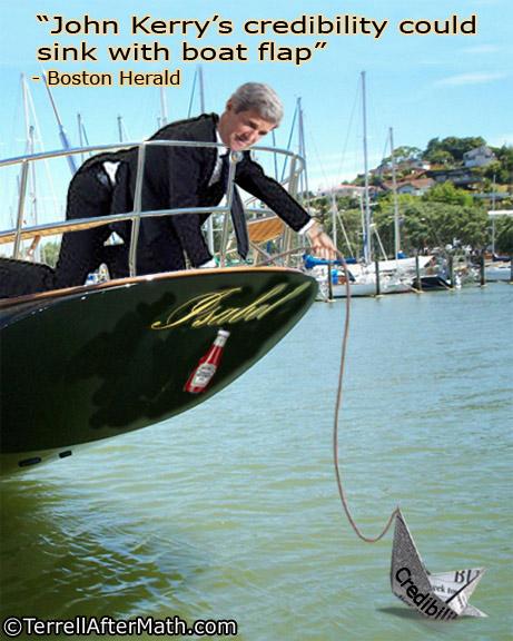 John Kerry Credibility Sinking SC