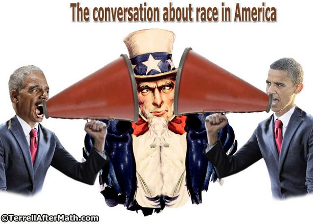 Obama Holder Conversation About Race In America SC