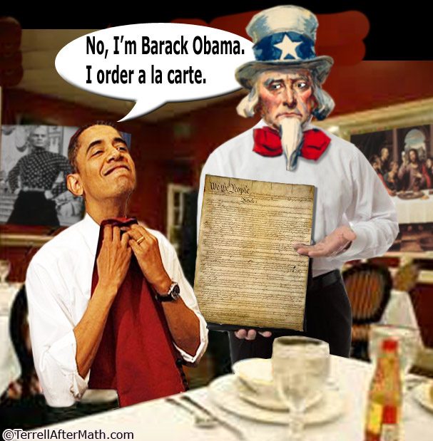 Obama Constitution A La Carte SC