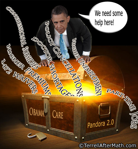 Obama Obamacare Pandora's Box SC