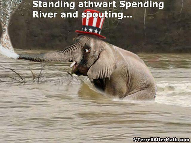 GOP Elephant Spending River SC