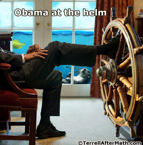 Obama At The Helm SC