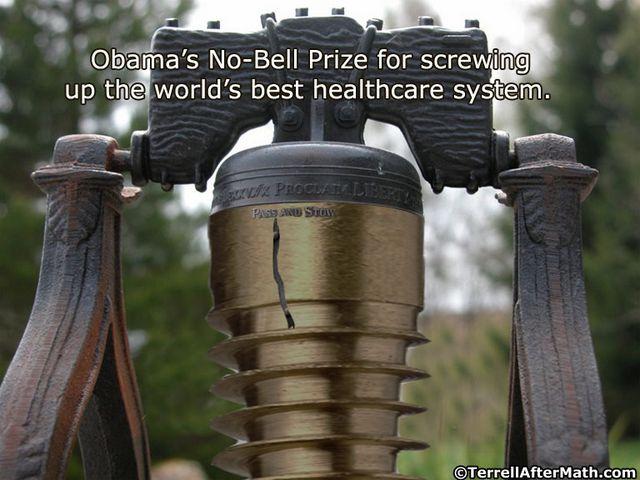 Obama No-Bell Prize Obamacare SC