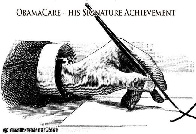 Obamacare Signature Achievement SC