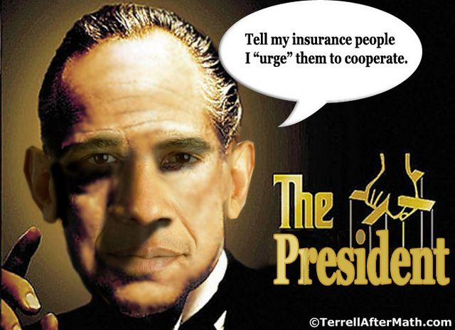 Obama Godfather Insurance SC