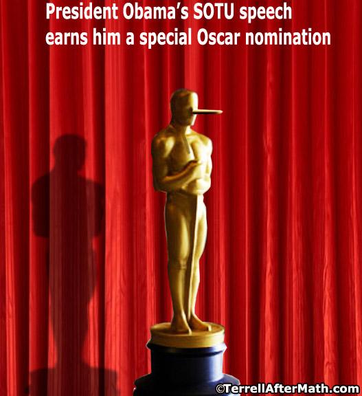 Obama Oscar SOTU Liar SC