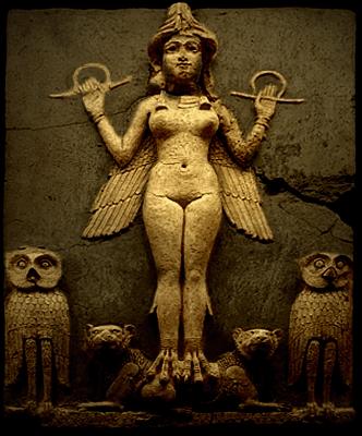 Ishtar Statue in the British Musem