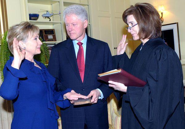 Bill and Hillary Clinton SC