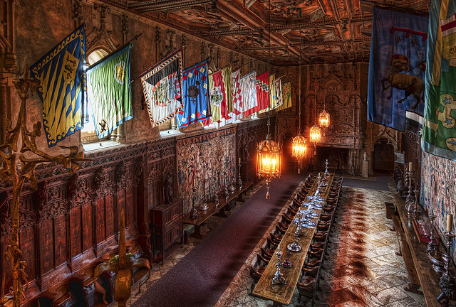 Great Room at Hearst Castle SC