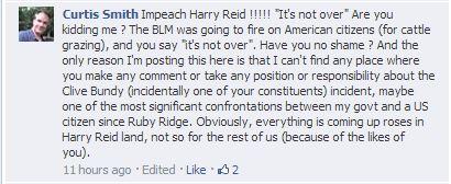 Facebook/Harry Reid