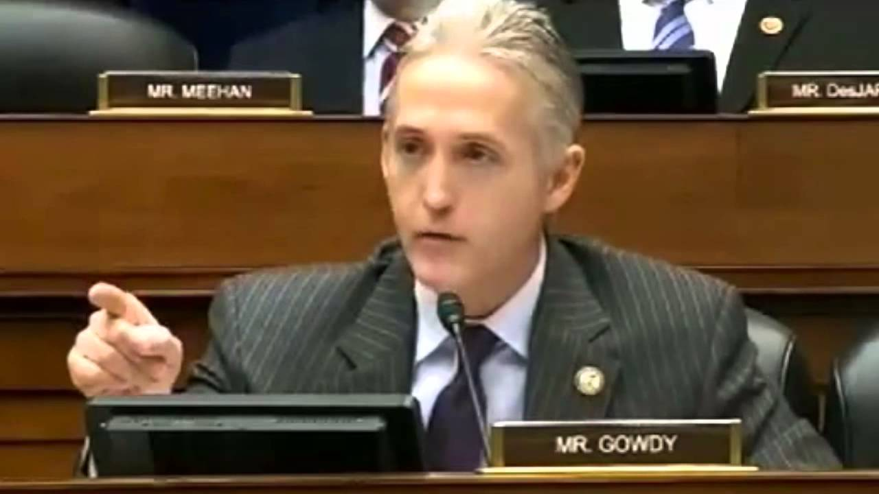 WATCH Trey Gowdy On Fire Over IRS Targeting