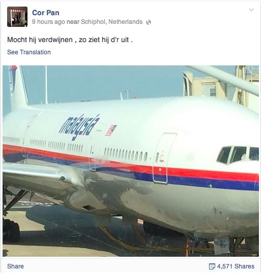 Malaysian FB post