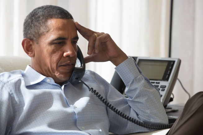 obama bummed