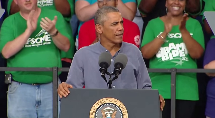 Obama Labor Day speech