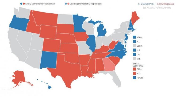 Photo: The Washington Post's Election Lab