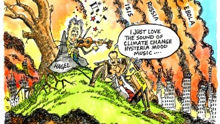 Fiddling with climate change