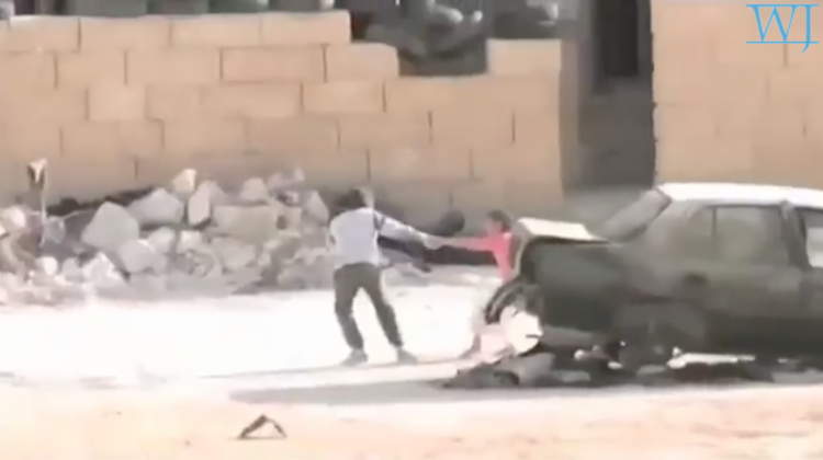 Syrian Boy Saves Girl