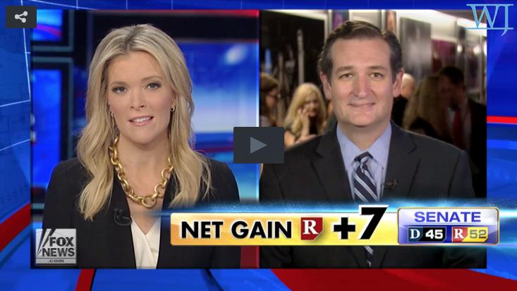 Ted Cruz and Megyn Kelly
