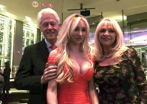 Clinton clings