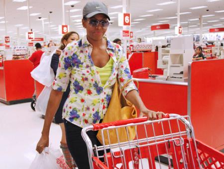 Michelle shops