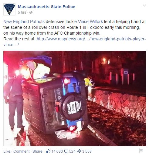 Massachusetts State Police/Facebook
