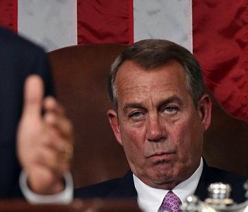 Boehner stare