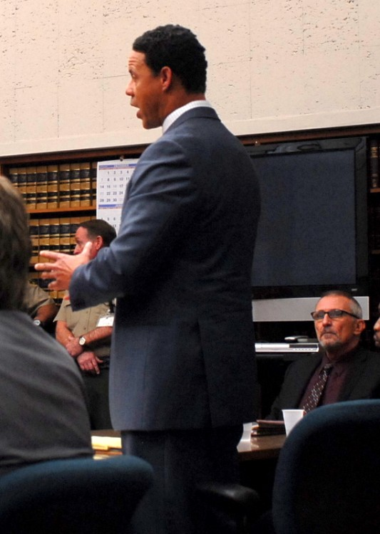 Attorney for Brandon Duncan, Brian E. Watkins.