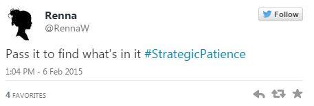 02062015_Tweet3 Strategic Patience_Twitter