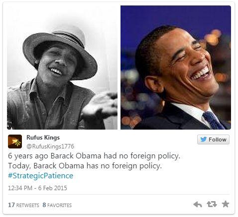 02062015_Tweet4 Obama Strategic Patience_Twitter