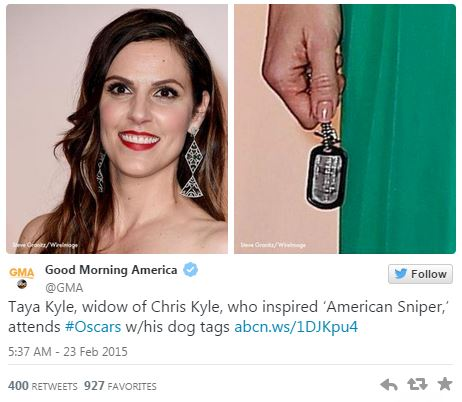 02232015_ABC Taya Kyle Dog Tag Tweet_Twitter