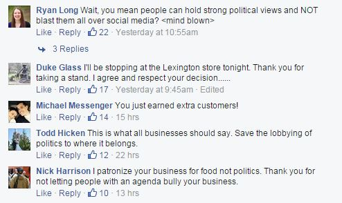 Facebook/Raising Cane's Chicken Fingers