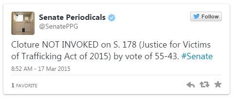 03172015_Senate Periodicals Cloture Tweet_Twitter